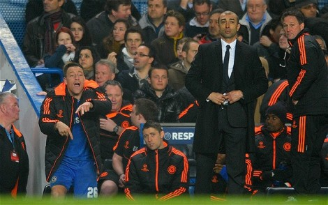 John Terry and Di Matteo